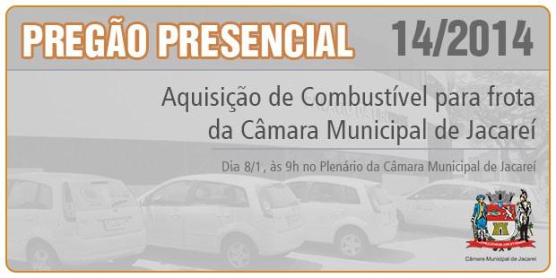 PREGÃO PRESENCIAL Nº 014/2014