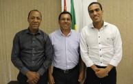 Arildo Batista recebe novo presidente da Câmara de São José dos Campos