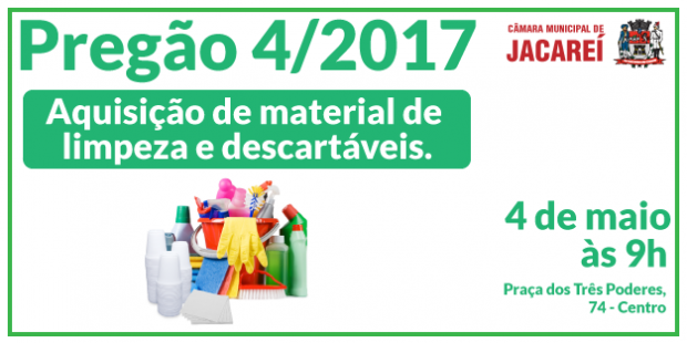 PREGÃO Nº 04/2017