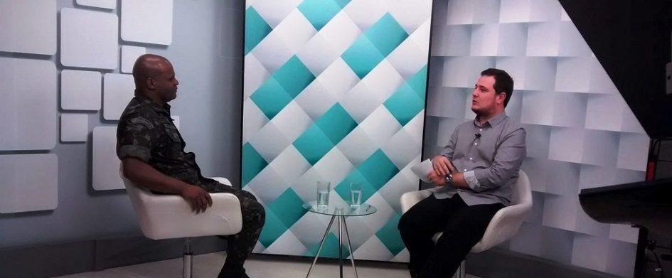 Comandante Divino Rodrigues é destaque em programa da TV Câmara