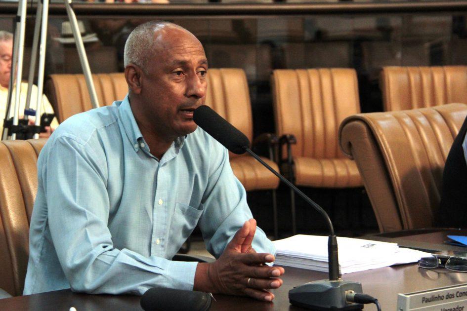 Paulinho dos Condutores pede troca de veículo e ampliação de linha de ônibus