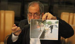 Valmir quer providências para água parada na Rua Barão e limpeza de terreno no Nova Jacareí