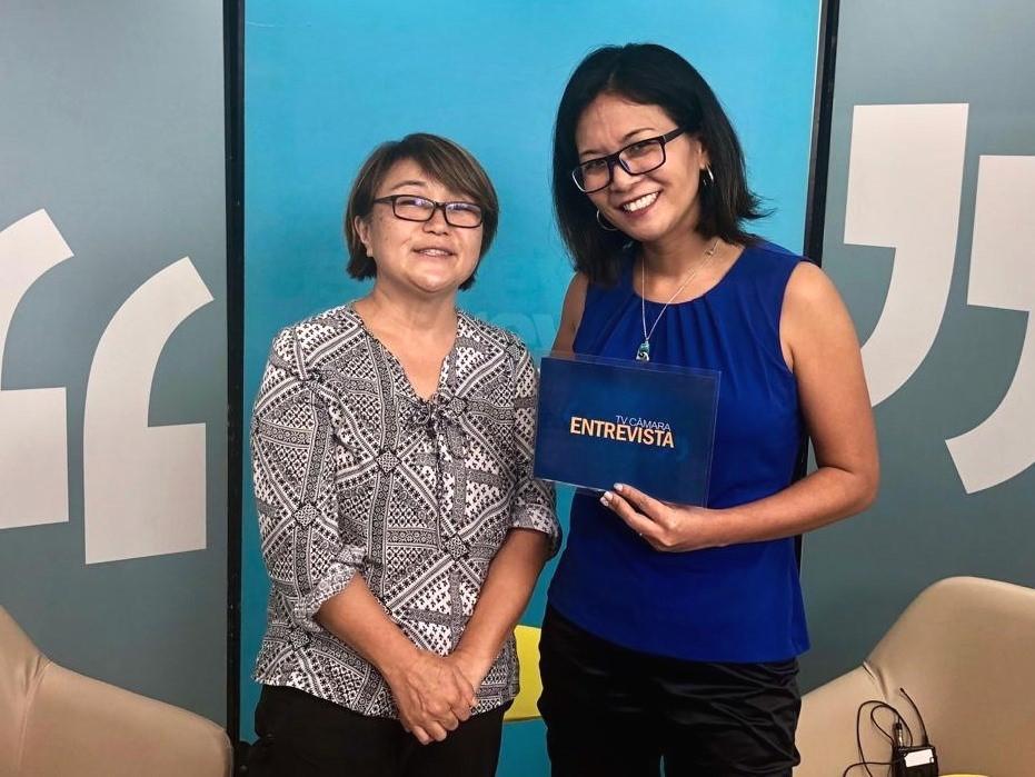 TV Câmara Entrevista aborda imigração Japonesa em Jacareí
