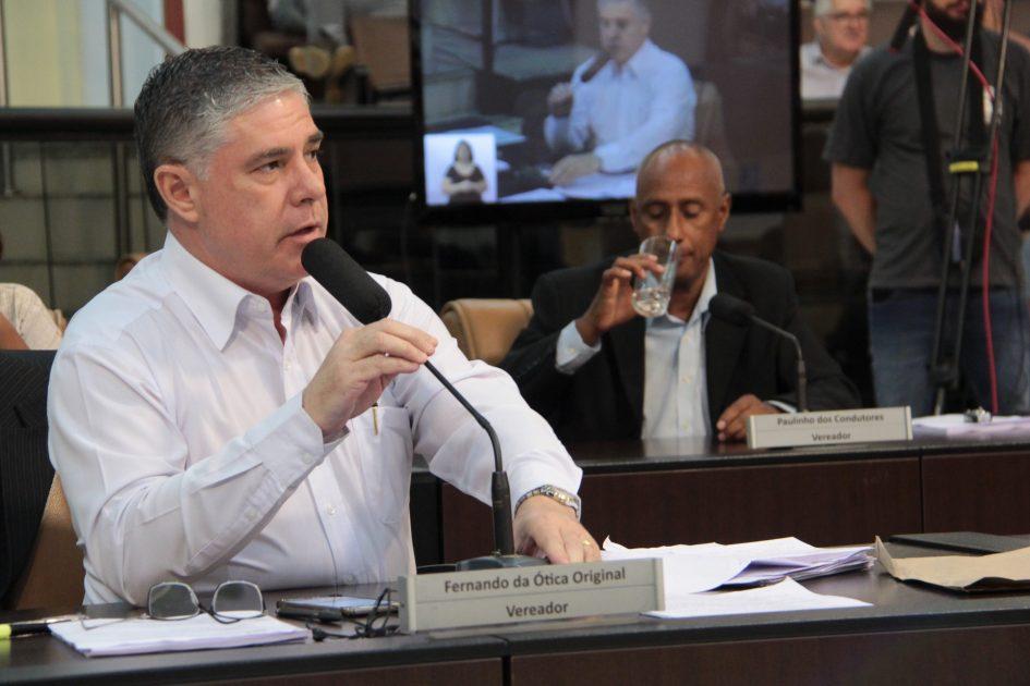 Fernando da Ótica quer esclarecimentos em relação a obras em curso na Vila Formosa
