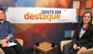 Gente em Destaque recebe apresentadora da Rádio Mensagem