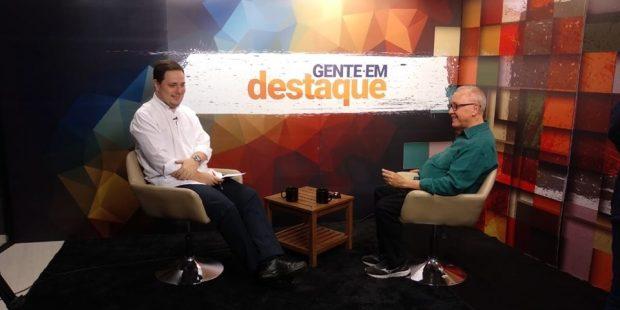 Programa Gente em Destaque entrevista idealizador do MAV de Jacareí