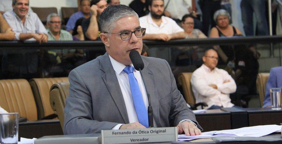 Fernando pede intensificação de rondas ostensivas da PM no Jardim Pedramar