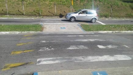 Rodrigo quer que faixa elevada de pedestres deixe de servir de retorno de veículos