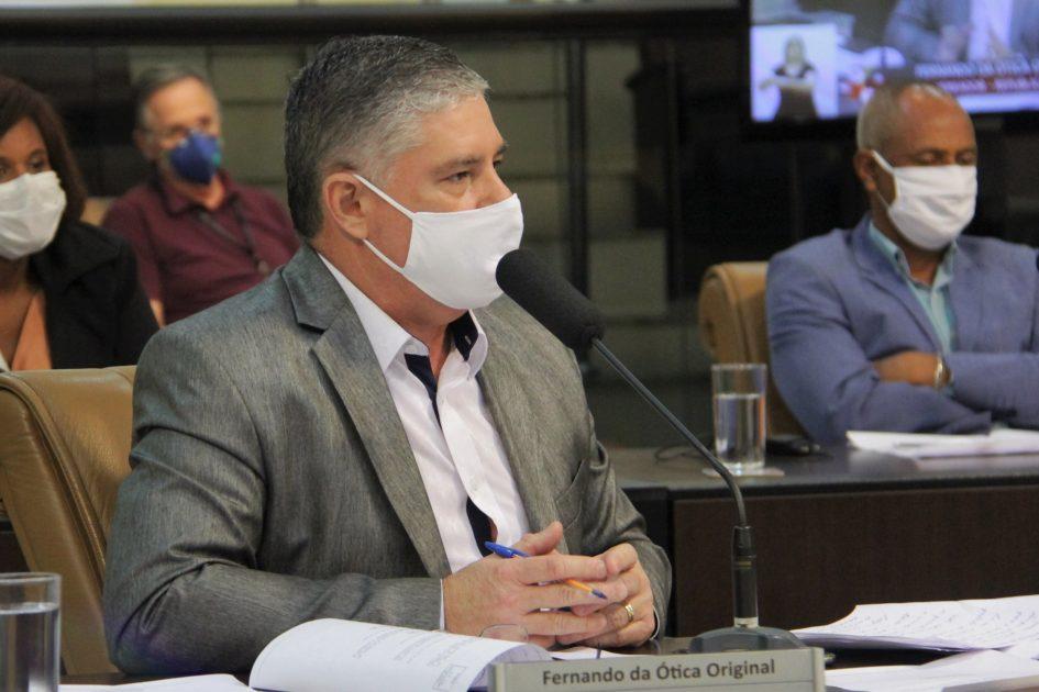 Fernando da Ótica pede intensificação de rondas da PM no Cidade Salvador