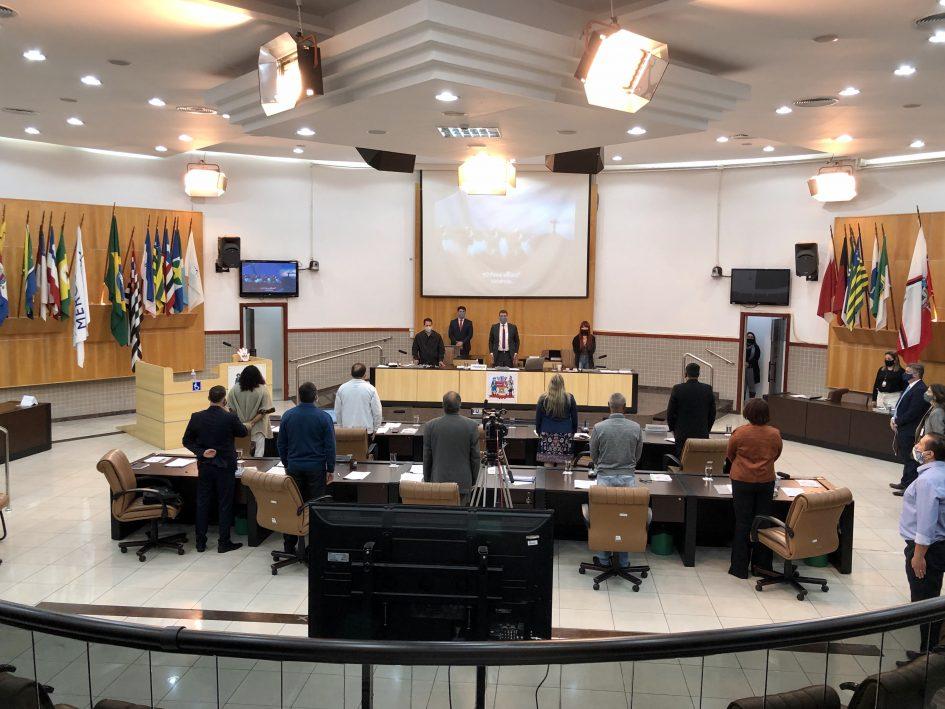 Câmara aprova três projetos na 24ª sessão ordinária do ano