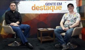 Quadrinista Giorgio Cappelli é o convidado do Gente em Destaque