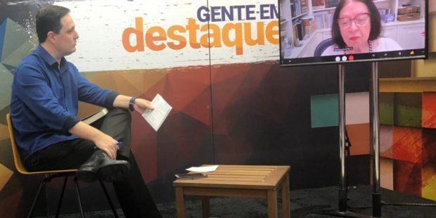 'Gente em Destaque' chega aos 5OO programas e entrevista a escritora Nélida Piñon