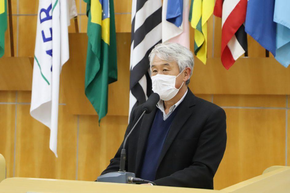 Edgard Sasaki indica intensificação de rondas da PM no Jardim Panorama e Vila Garcia