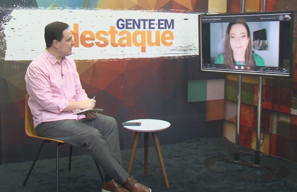 Gente em Destaque entrevista ex-apresentadora da TV Câmara Jacareí
