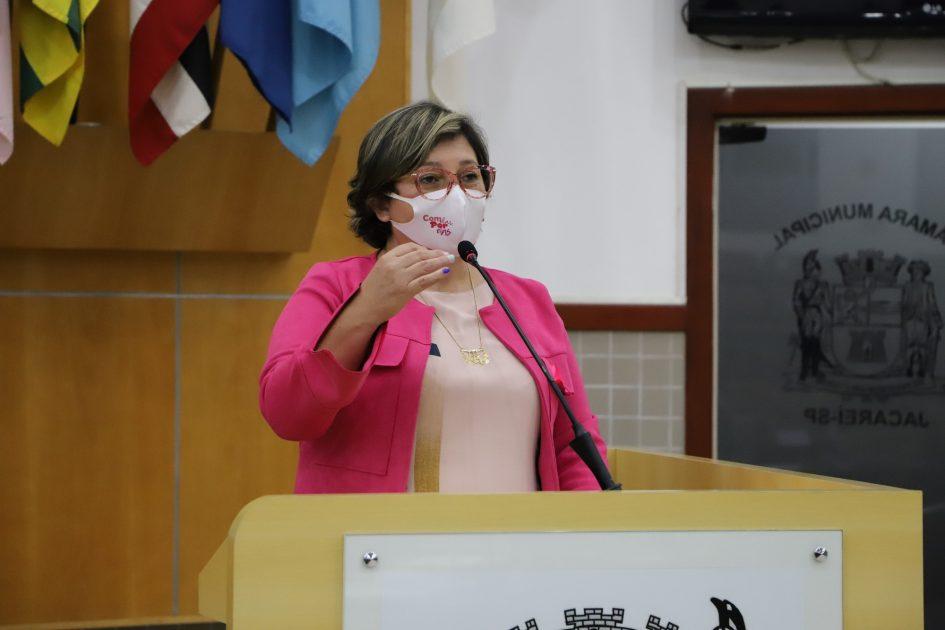 Maria Amélia pede instalação de placa de sinalização na Avenida Davi Lino